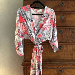Julie Brown Wrap Dress